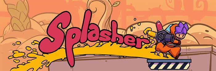 Jeux video: Splasher, le plateformer qui tache sortira en janvier !