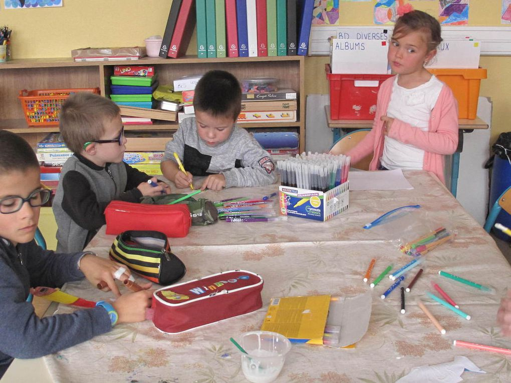 Ateliers inter classes du lundi 16 octobre