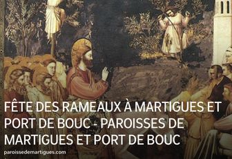 DIMANCHE DES RAMEAUX À MARTIGUES ET PORT DE BOUC