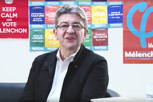 Mélenchon en mode youtubeur