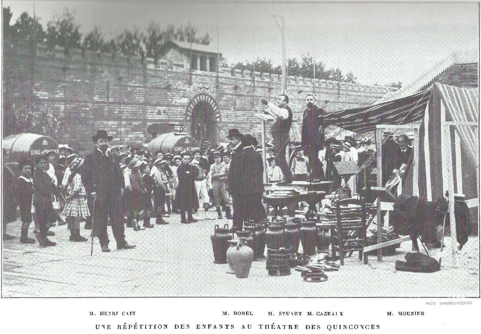 La Fêtes des Vendanges à Bordeaux en 1909