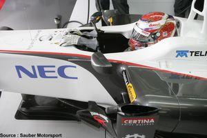 NEC Mexico rejoint les rangs de Sauber