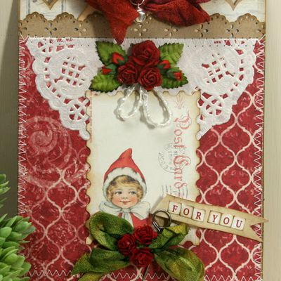 Tag pour style shabby