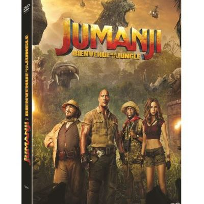 [REVUE CINEMA DVD] JUMANJI : BIENVENUE DANS LA JUNGLE