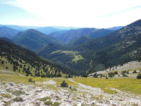 Le Jocou, 2051 mètres, randonnée dans le Haut-Diois.