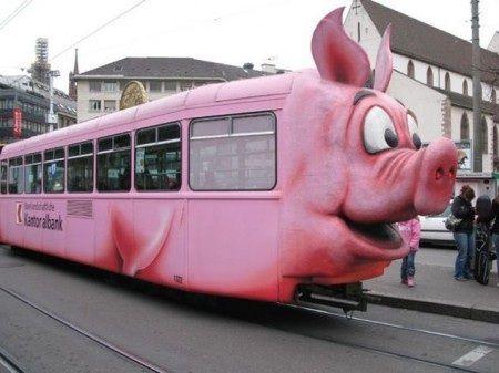 Absurdité : tramway