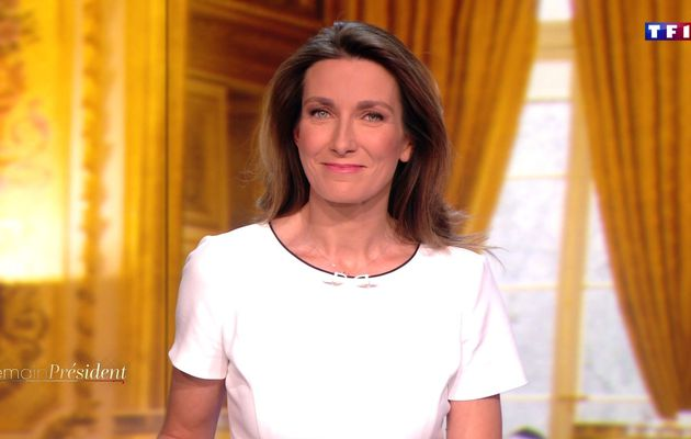 📸7 ANNE-CLAIRE COUDRAY @ACCoudray @TF1 @TF1LeJT pour DEMAIN PRESIDENT #vuesalatele