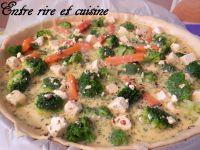 Quiche Brocolis - Carottes aux dés de fromage marinés + Colis Ker Cadélac