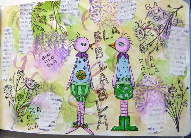 ENCORE DE L'ART JOURNAL ! 5/4/21