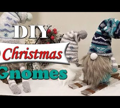 DIY : Do It Yourself : Gnomes de Noël