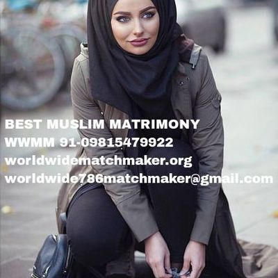 MUSLIM MATCHMAKING ON FACEBOOK 91-09815479922 WWMM