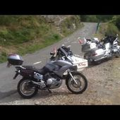 Goldwing Unsersbande - on a fait les lacets du montvernier