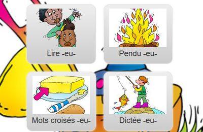 Dictées de mots (par son) interactives et exercices de préparation CP-CE1