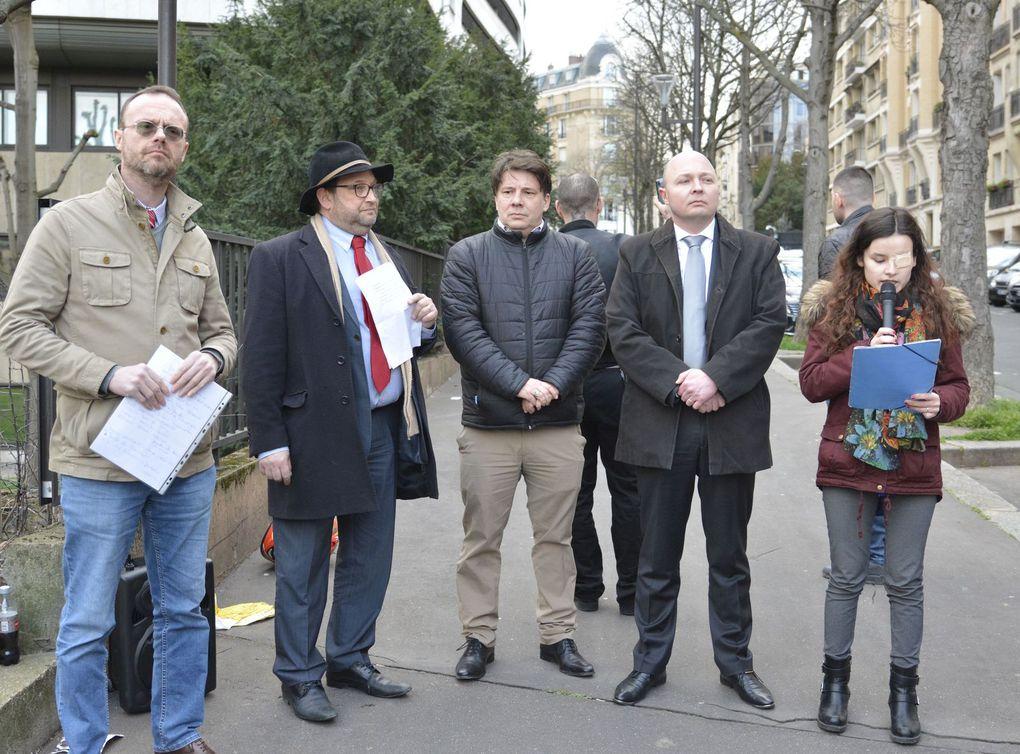 Photos, vidéos et compte-rendu du rassemblement devant l'ambassade de Turquie du 13/03/20