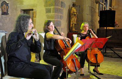 Concert d'Arpèges en Fenouillède à Notre Dame de Laval le 4 août 2017 en 45 photos