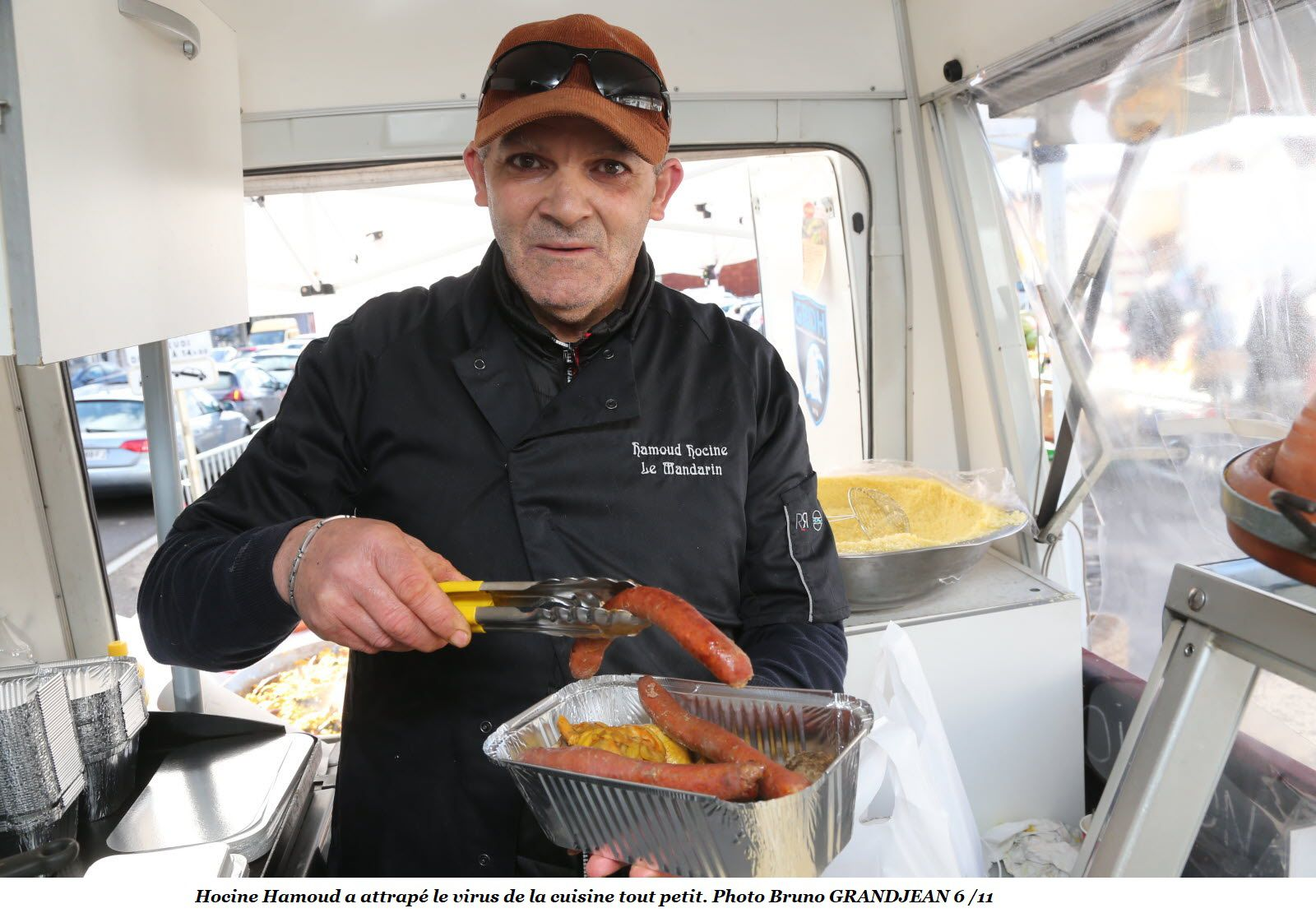 Hocine Hamoud, le meilleur des saveurs orientales dans un food truck