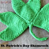 Knit a Sweet Shamrock for St. Patrick's Day