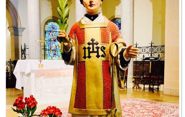 Quatrième jour de la neuvaine -Saint Laurent, disciple affligé.