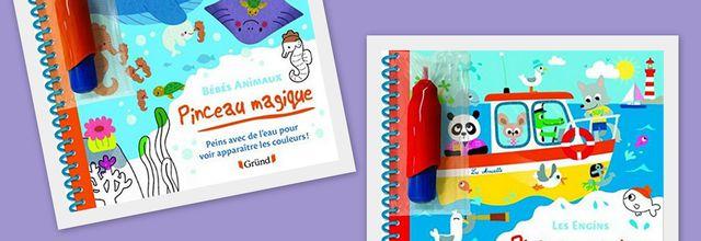 Pinceau Magique : les animaux et les bébés animaux.