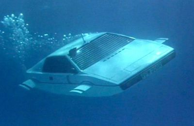 VIDEO - la Lotus sous-marin de James Bond à vendre sur eBay