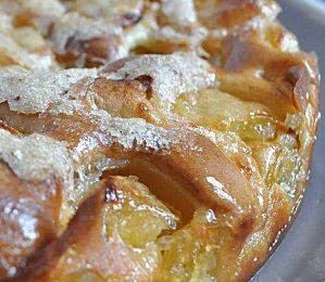 Gâteau aux Pommes et sa Croute Croustillante