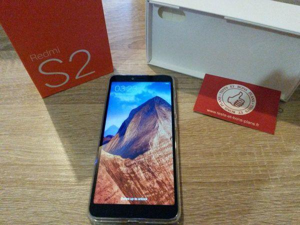 Xiaomi RedMi S2 Dark Grey 32 Go @ Tests et Bons Plans