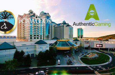 Authentic Gaming désormais live depuis le Foxwoods Casino Resort