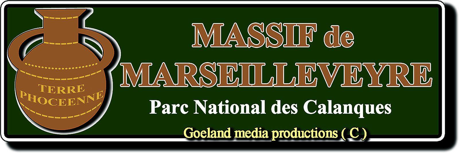 Massif de MARSEILLEVEYRE - goelandmedia.prod@gmail.com (c) - CALANQUES - Marseille ( Dpt 13 )