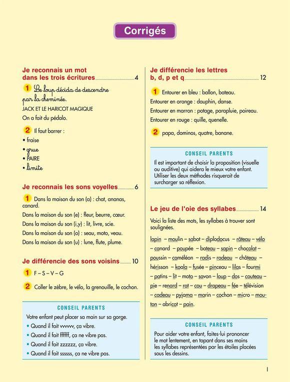 Cahier de vacances Dys - CP