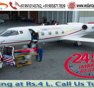 Get the Excellent Patient Transfer by Vedanta Air Ambulance Services in Mumbai