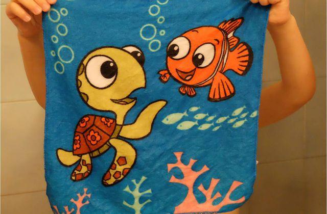 Bain magique avec le monde de Nemo Lidl !