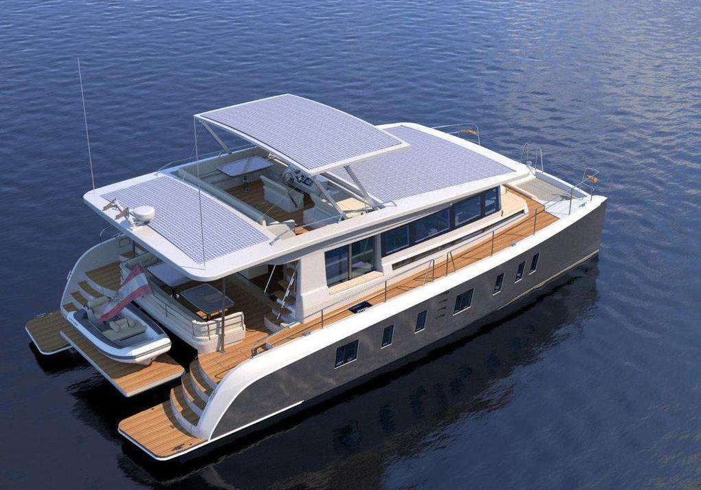Silent 55, un catamaran qui fonctionne à l'énergie solaire !