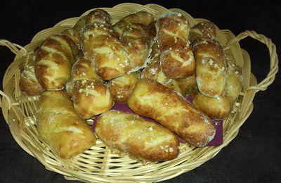 Mauricette-moricette-malicette-pâte à bretzel: petits pains alsaciens