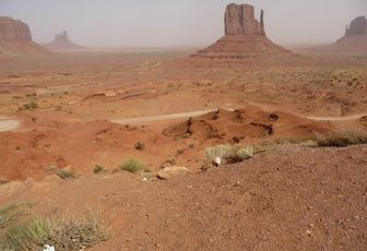 USA 2008 - part 12 – Bye Bye Canyon, Hello Monument Valley !