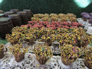 """Les fleurs """"certifiées"""" uniques de chaque santonnier"""