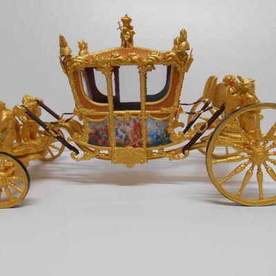 Le carrosse de la Reine d'Angleterre :Gold State Coach !