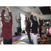 Stage de yogathérapie organisé par l'Union comtoise de yoga