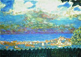 Le peintre Pierre Bonnard