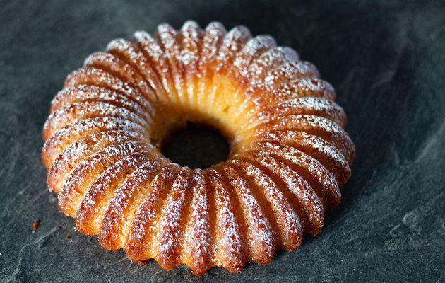 Cake moelleux au citron de Pierre Hermé