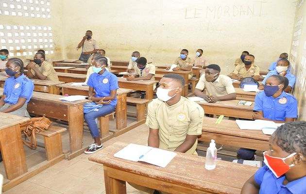 Congo-Brazzaville: Students get back to school with Covid-19 protocols in place