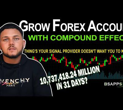How to grow your Forex account using the compound effect - BSAPPSFX