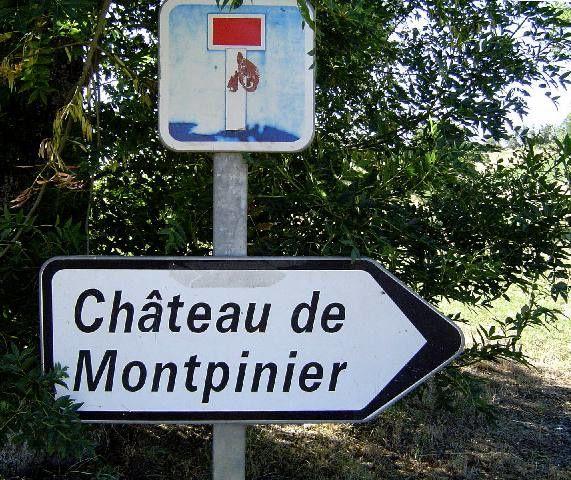 Diaporama château de Montpinier