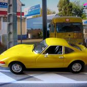 FASCICULE N°2 OPEL GT PEINTURE JAUNE 1968 IXO 1/43. - car-collector.net