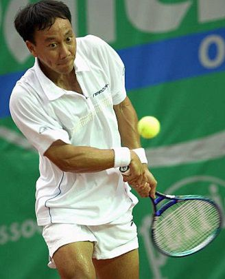 Michael Chang et Robbie Weiss