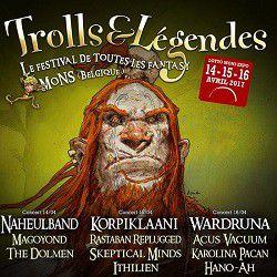 """Korpiklaani au programme de """"Trolls et Légendes"""" en 2017..."""