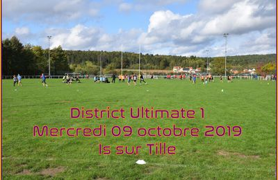 DISTRICT ULTIMATE 1 2019/2020