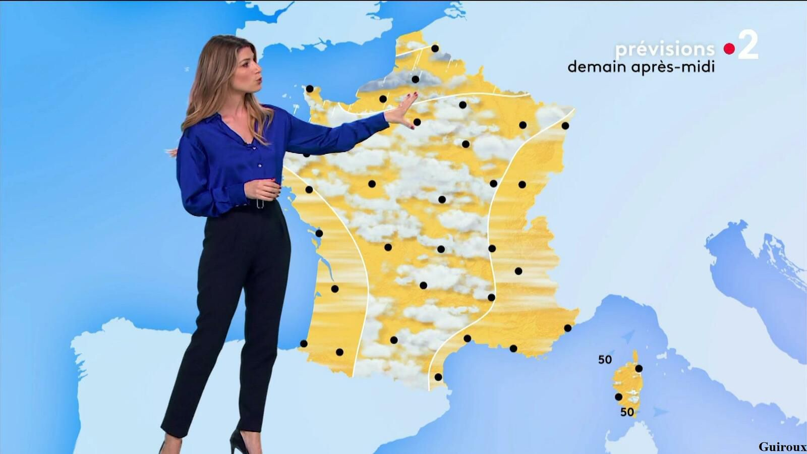 Chloé Nabédian 14/10/2021 Journaux météo du midi