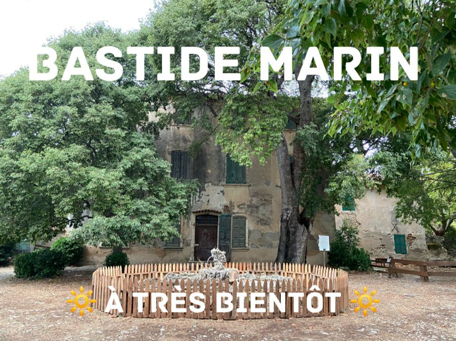 Suspension des visites de la Bastide MARIN - Confinement Covid-19