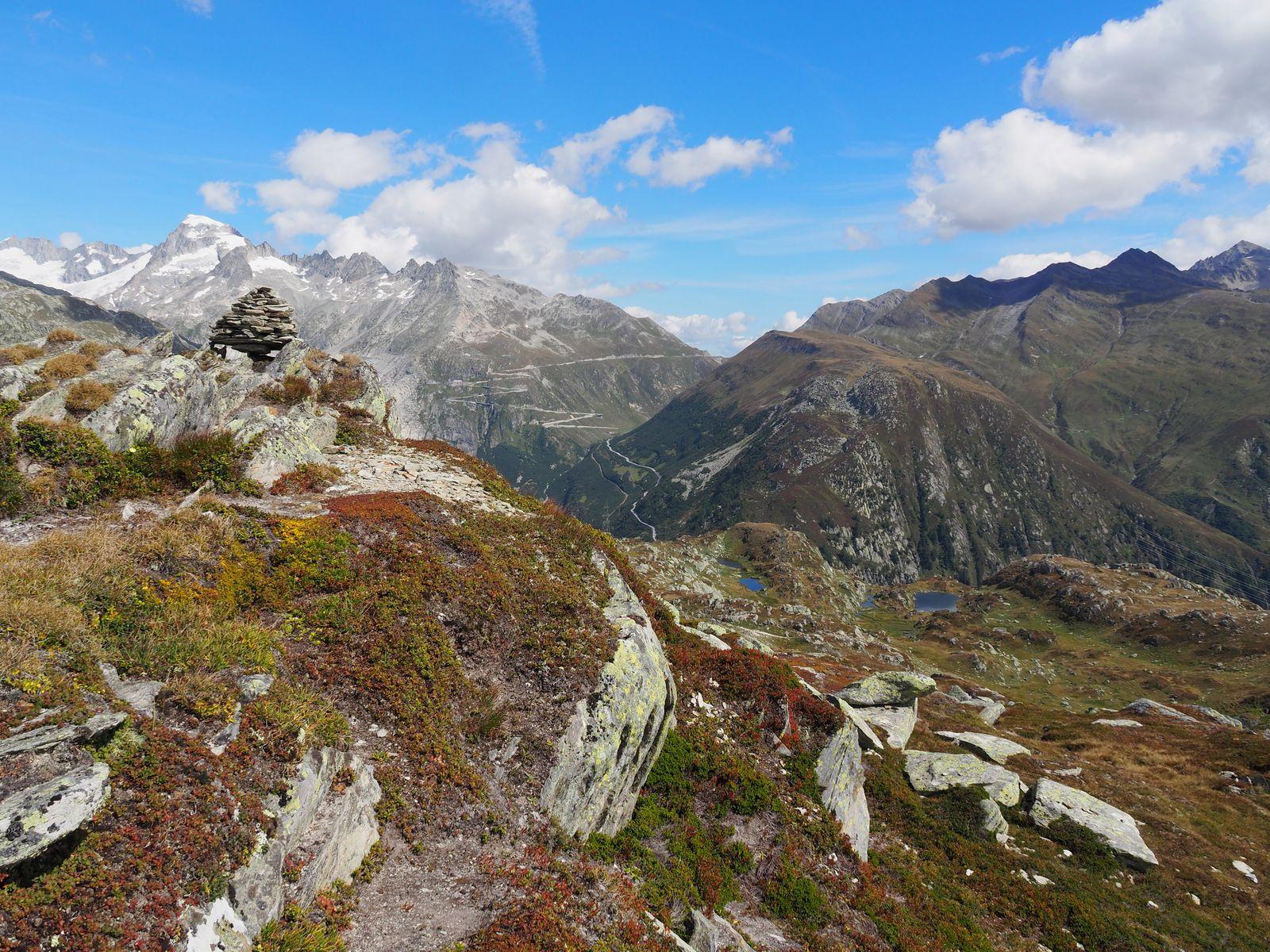 Galenstock (3586m), col de la Furka