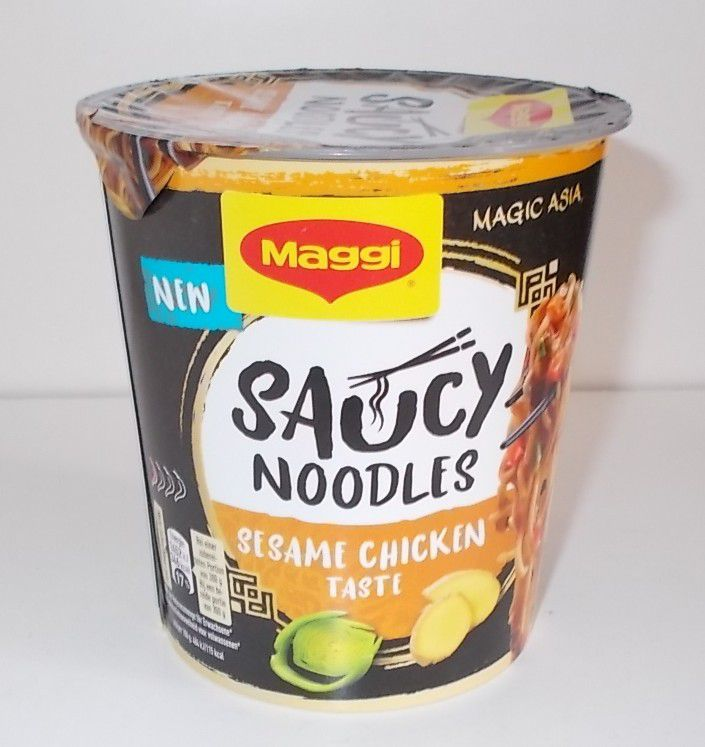 Maggi Saucy Noodles Sesame Chicken Taste
